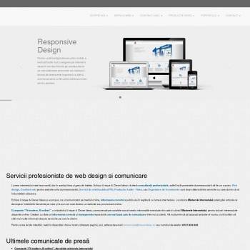 Website pentru firma Unique & Clever Ideas SRL