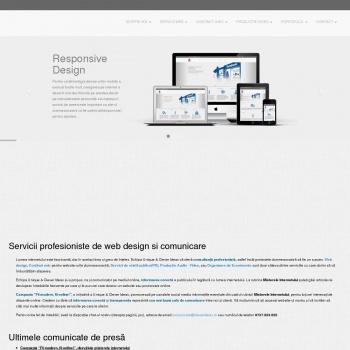 Website pentru firma Unique & Clever Ideas SRL