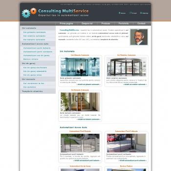 Website pentru firma Consulting Multi Service XXI