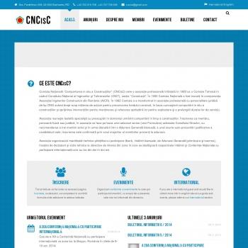 CNCiSC - Comisia Nationala Comportarea in Situ a Constructiilor