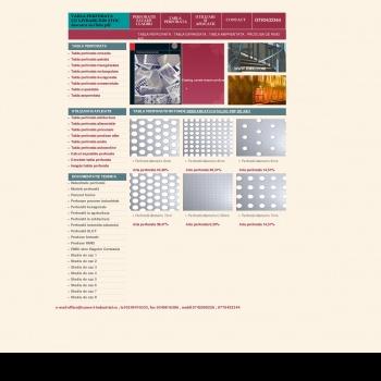 Website publicat de Sanda Daniel
