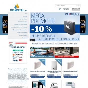 Website pentru firma Comstal Romania