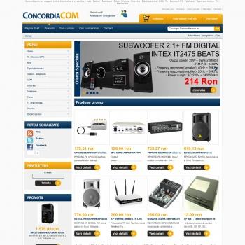 Concordiacom.ro - magazin online electronice si conectica
