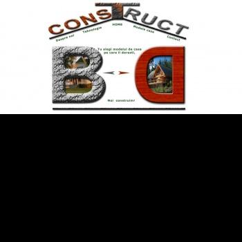 Website pentru firma Constructii Structuri Srl