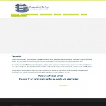 Website pentru firma Constructorul De Case Trainice