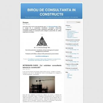 Consultanta constructii industriale si civile