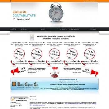 Website pentru firma RUIU EXPERT 2000