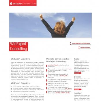 Website pentru firma Win Expert Consulting