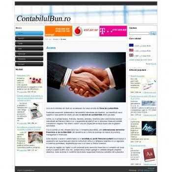 Website pentru firma P.F.A. Fronie Alexandru-Marian