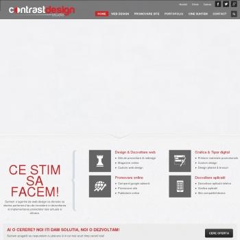 Web design Bucuresti, Redesign Site