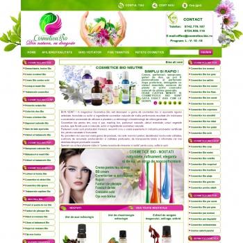 Cosmetica Bio, cosmetice naturale