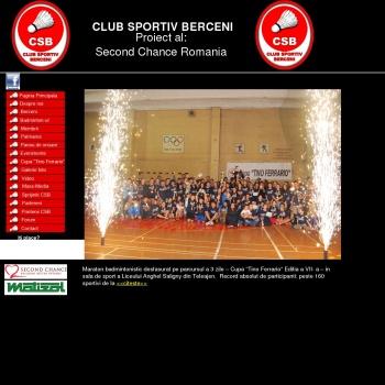 Website pentru firma Club Sportiv Berceni Prahova