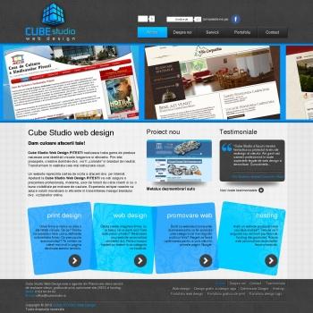 Agentie web design si grafica de print Pitesti