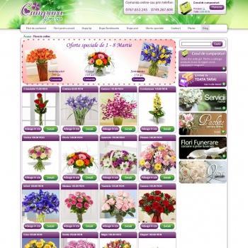 Florarie online cumparaflori.ro