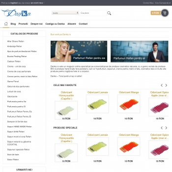 Website pentru firma Danka