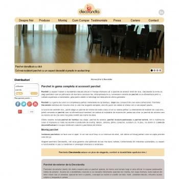 Website pentru firma Decolandia