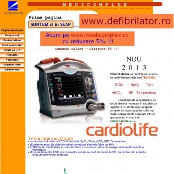 Defibrilator Nihon Kohden - Japonia. Importator unic!