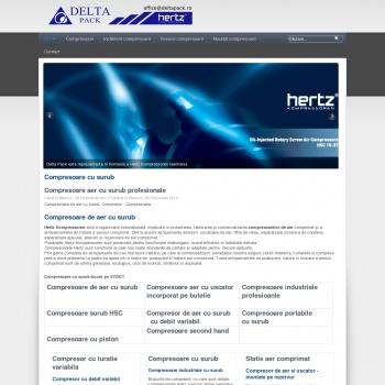 Website pentru firma sc deltapack srl