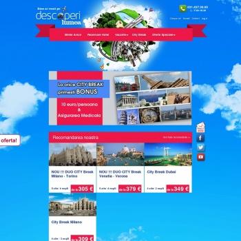 Agentie turism - Descoperi Lumea