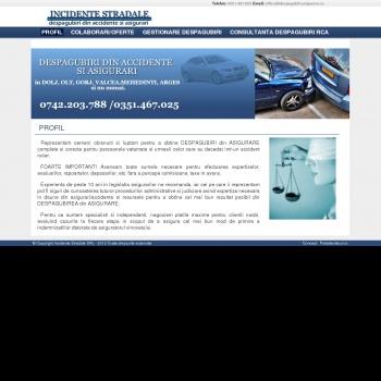 Website pentru firma INCIDENTE STRADALE