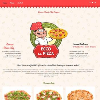 Livrare pizza Cluj - Ecco La Pizza