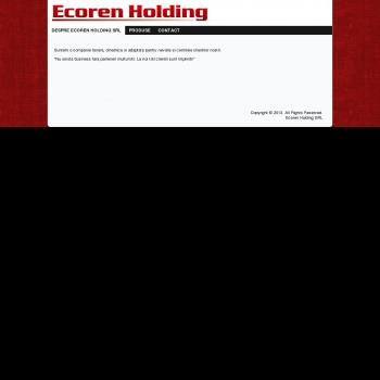 ECOREN HOLDING SRL