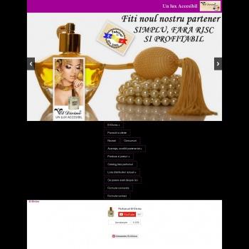 Website pentru firma SC EL DIVINO SRL