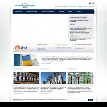 Website pentru firma ELECTROCONAT SRL