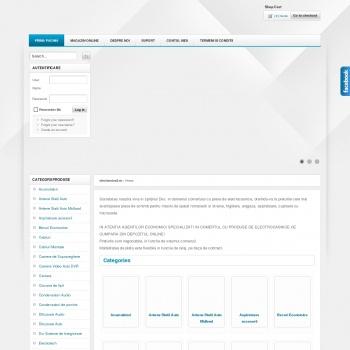 Website pentru firma Sc SIL ELECTRIC srl