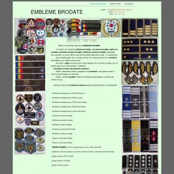 Embleme Brodate