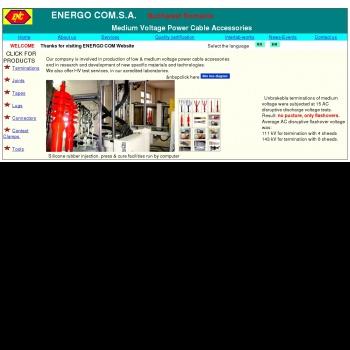 Website pentru firma ENERGO COM. S.A.