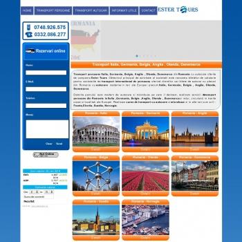 Website pentru firma Ester Tours