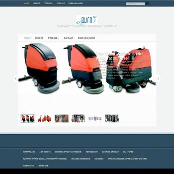 Website pentru firma Euro 5 SRL