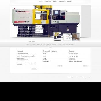 Website pentru firma Euroclass Serv