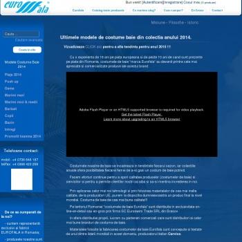 Website pentru firma MICA TAAL SRL