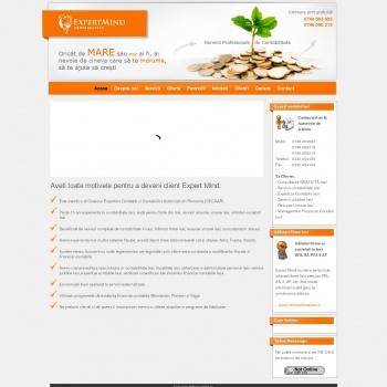 Website pentru firma Expert- Mind SRL