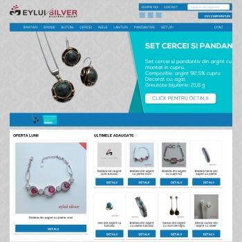 Bijuterii Argint senzationale www.eylul-silver.ro