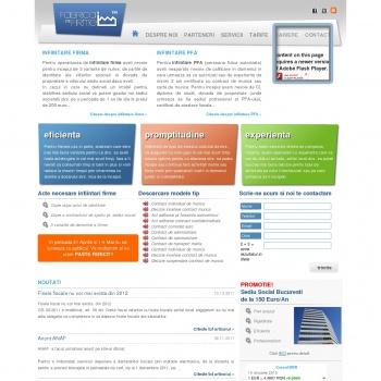 Website pentru firma GHAL ACTIV BUSINESS SRL