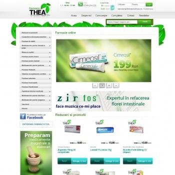 Farmacia THEA | Farmacie online
