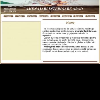 Website pentru firma Orban Finisaje Interioare
