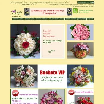 Comenzi flori online si livrare 24h