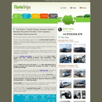 Website pentru firma Florintrips