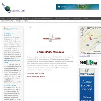 Website pentru firma FloSoft2006