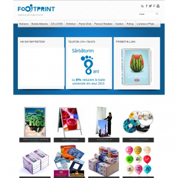 Website pentru firma Footprint