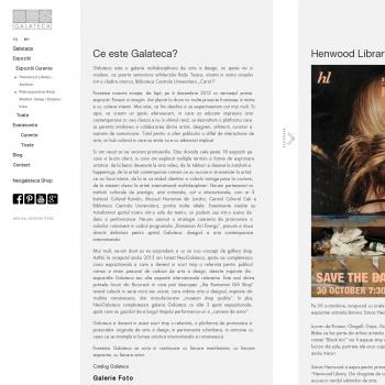 Galerie arta contemporana