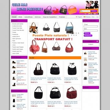 Website pentru firma SC TRIO SANTI SRL