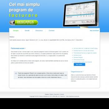 Website pentru firma SC GENIUS SOFTWARE SRL
