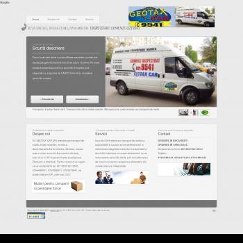 GEOTAX SERVICI DE TAXI TRANSPORT MARFURI 0219531 BUCURESTI TAXI
