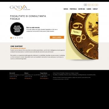 Website pentru firma Godja & Asociatii