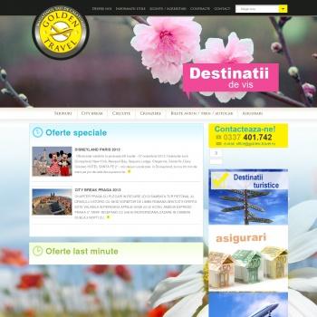 Golden Travel Agentie de turism Focsani